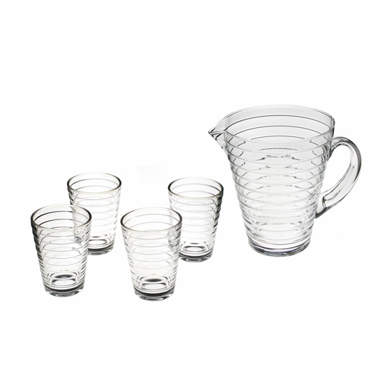 iittala Aino Aalto Pitcher and Tumblers Set