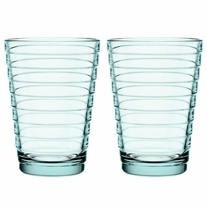 iittala Aino Aalto Water Green Large Tumblers - Set of 2