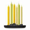 iittala Allas Round Cast Iron Candle Holder
