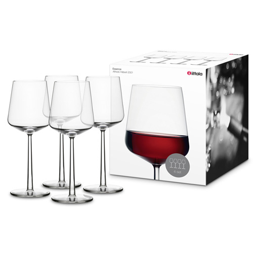 Red Kitchen Glassware: Iittala Essence Red Wine Glasses (Set Of 4)