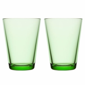 iittala Kartio Apple Green Large Tumbler - Set of 2
