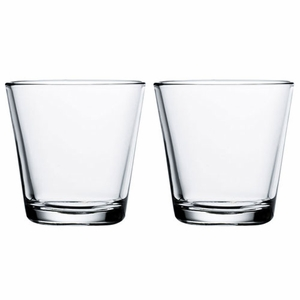 iittala Kartio Clear Medium Tumbler - Set of 2