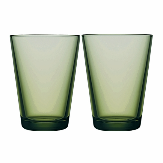iittala Kartio Forest Large Tumbler - Set of 2
