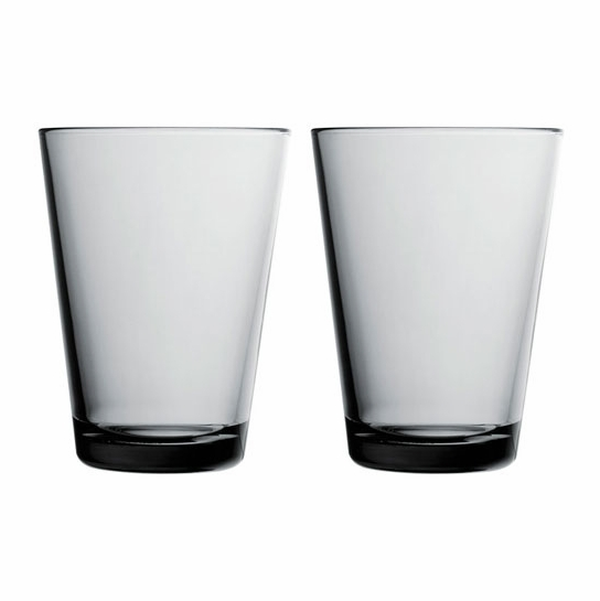 iittala Kartio Grey Large Tumbler - Set of 2