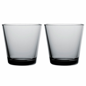 iittala Kartio Grey Medium Tumbler - Set of 2