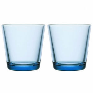 iittala Kartio Light Blue Medium Tumbler - Set of 2
