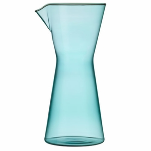iittala Kartio Sea Blue Pitcher