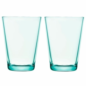 iittala Kartio Water Green Large Tumbler - Set of 2