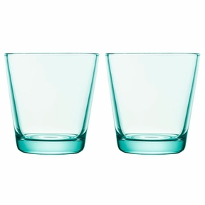 iittala Kartio Water Green Medium Tumbler - Set of 2