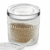 iittala Kastehelmi Clear Jars Grey Tin Gift Set
