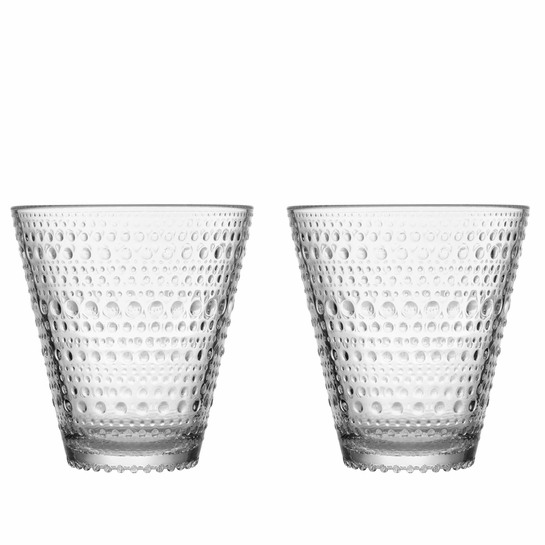 iittala Kastehelmi Clear Tumblers - Set of 2