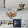 Iittala Kastehelmi Dewdrop Clear Footed Bowl Gift Set