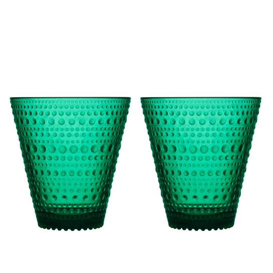 iittala Kastehelmi Emerald Tumblers - Set of 2