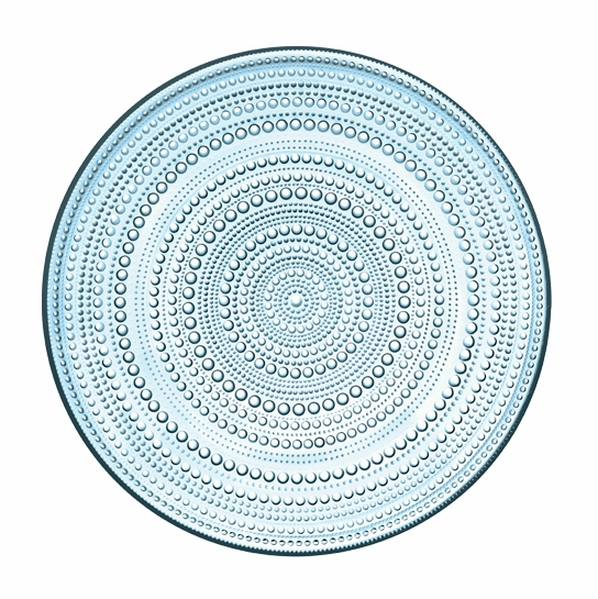 iittala Kastehelmi Light Blue Serving Plate