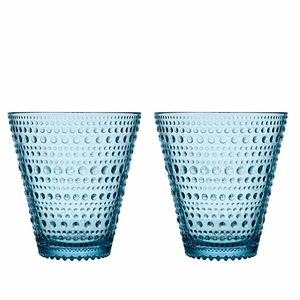 iittala Kastehelmi Light Blue Tumblers - Set of 2