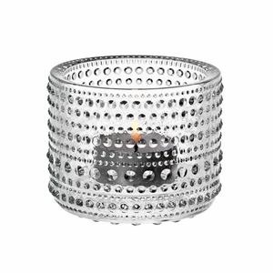 iittala Kastehelmi Clear Candle Holder
