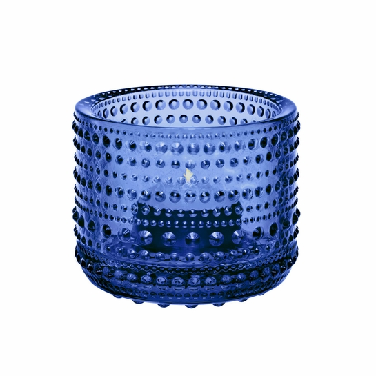 iittala Kastehelmi Ultramarine Candle Holder