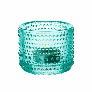 iittala Kastehelmi Water Green Candle Holder