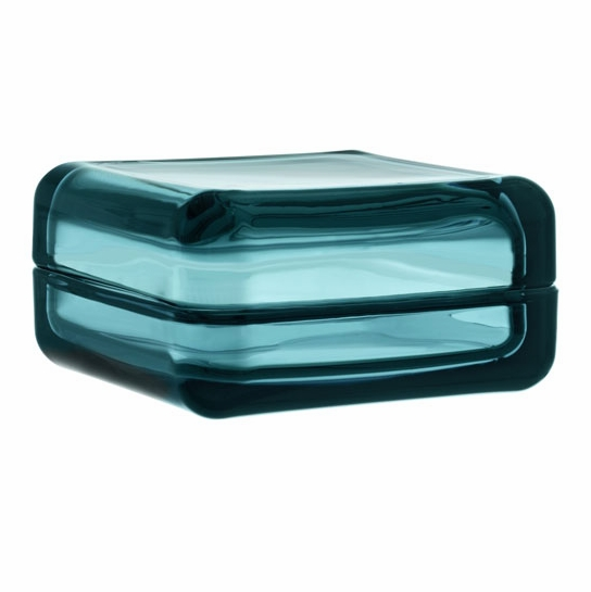 iittala Large Sea Blue Vitriini Box