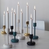 iittala Nappula Black Short Candle Holder