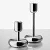 iittala Nappula Stainless Steel Tall Candle Holder