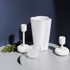 iittala Nappula White Short Candle Holder