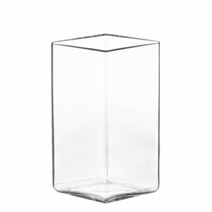"iittala Ruutu Clear Glass Vase – 7"" x 4-1/2"""