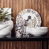 iittala Taika Anniversary White Small Serving Bowl