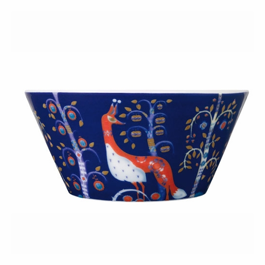 iittala Taika Blue Serving Bowl