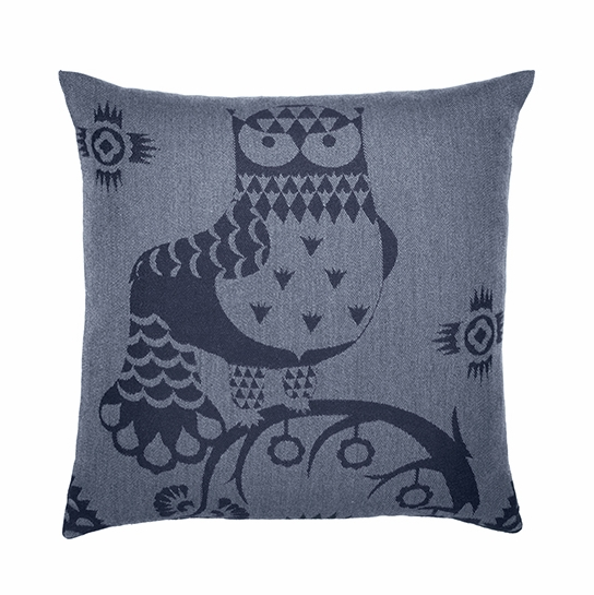 iittala Taika Blue Throw Pillow