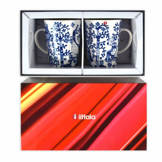 iittala Taika Midnight Blue Mugs (Gift Set of 2)