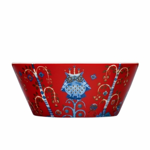 iittala Taika Red 10 oz Bowl