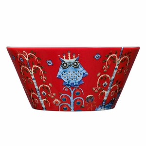iittala Taika Red 20 oz Bowl