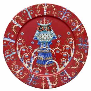 iittala Taika Red Dinner Plate - 10-1/2""