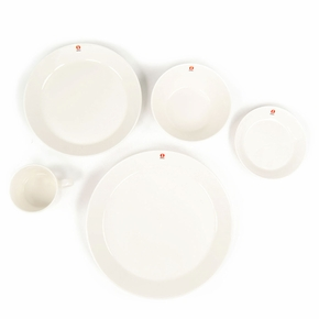 iittala Teema 5-Piece White Dinnerware Set