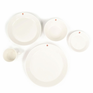 iittala Teema 5-Piece White Dinnerware Set - 8 Place Settings (w/Free Serving Bowl)