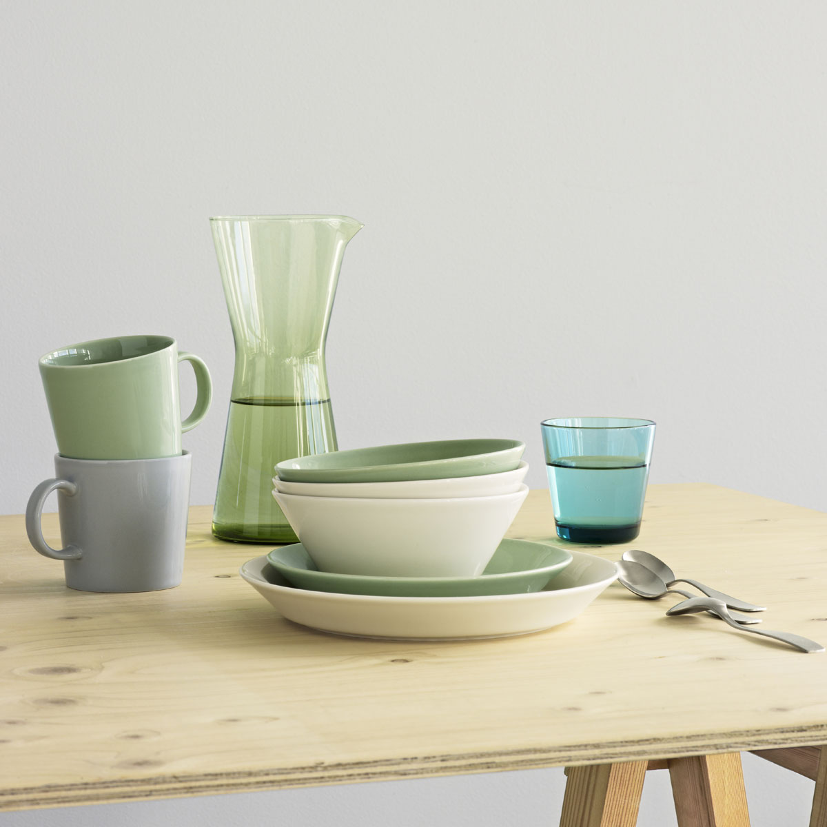 iittala teema celadon large mug iittala sale. Black Bedroom Furniture Sets. Home Design Ideas