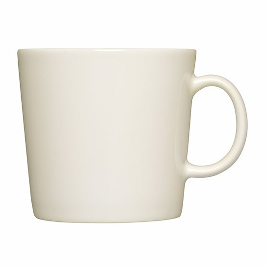 iittala teema large white mug iittala teema white dinnerware. Black Bedroom Furniture Sets. Home Design Ideas