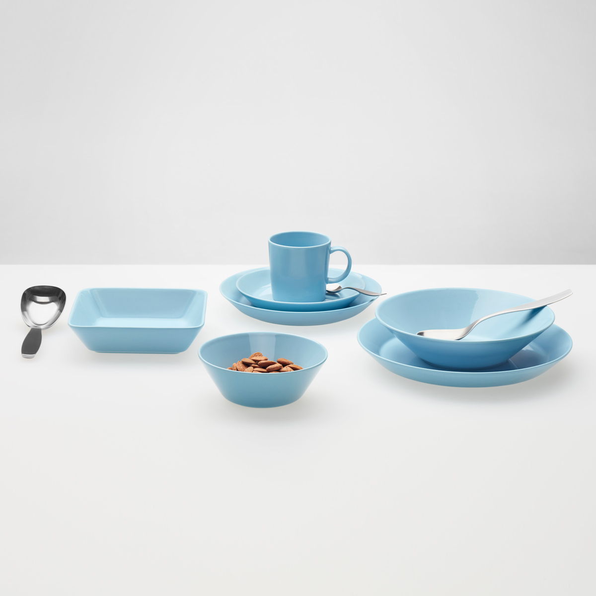 iittala teema light blue dinnerware iittala teema. Black Bedroom Furniture Sets. Home Design Ideas