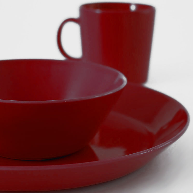 iittala teema red dinnerware iittala teema. Black Bedroom Furniture Sets. Home Design Ideas
