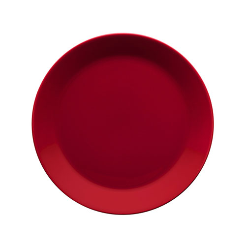 iittala teema red salad plate 50 or more sale. Black Bedroom Furniture Sets. Home Design Ideas