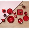 Iittala Teema Red Square Vegetable Dish