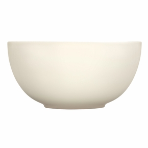 iittala Teema White Large Curved Serving Bowl