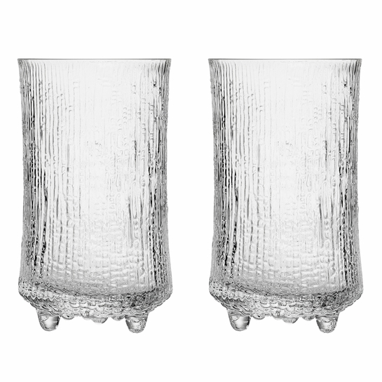Iittala Ultima Thule Anniversary Beer Glasses (Set of 2)