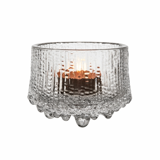 iittala Ultima Thule Clear Candle Holder
