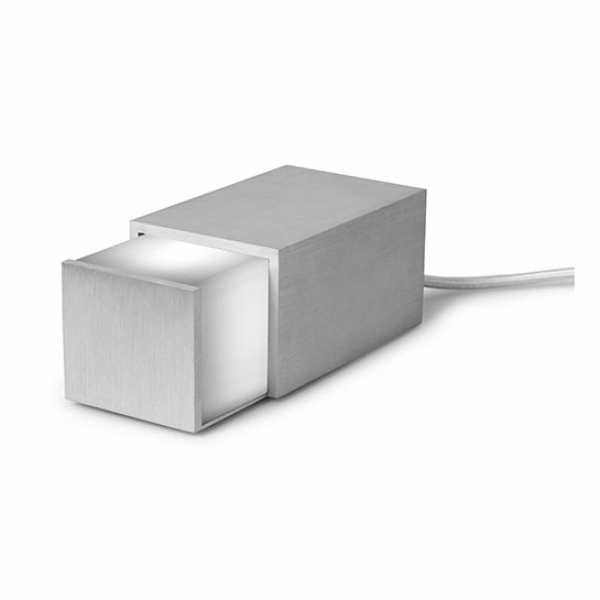 Jonas Hakaniemi Brushed Silver Box Light