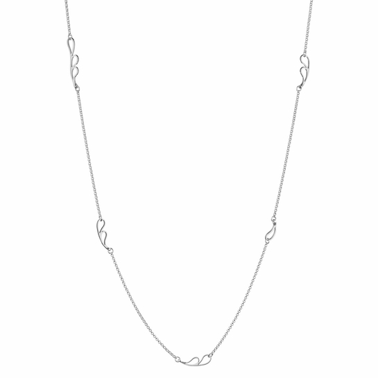 Kalevala Dripping Silver Necklace