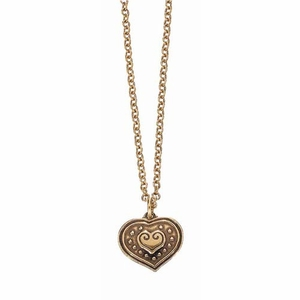 Kalevala Eura Heart Bronze Pendant Necklace