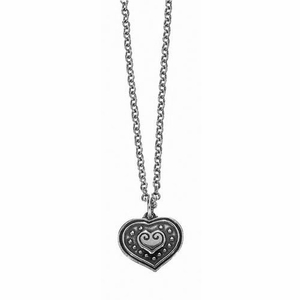 Kalevala Eura Heart Silver Pendant Necklace