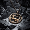 Kalevala Gallant Bronze Pendant Necklace